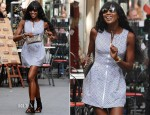 Naomi Campbell In Azzedine Alaia - Shopping In Taormina