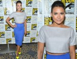 Naya Rivera In Razan Alazzouni & H&M - 'Glee' Panel: Comic-Con 2012