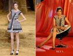 Nieves Alvarez In Chanel, Juan Vidal & Lanvin – Solo Moda