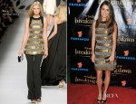 Nikki Reed In Etro - 'The Twilight Saga: Breaking Dawn – Part 2′ VIP Comic-Con Celebration