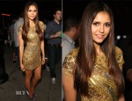 Nina Dobrev In Farah Khan - Maxim, FX and Fox Home Entertainment Comic-Con Party
