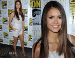 Nina Dobrev In Katharine Kidd - 'The Vampire Diaries' Panel: Comic-Con 2012