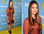 Nina Dobrev In Jenny Packham - Entertainment Weekly's 6th Annual Comic-Con Celebration