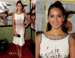 Olivia Munn In Carolina Herrera - 'The Babymaker' LA Screening