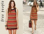 Olivia Palermo's Free People Romantics Tapestry Shift Dress