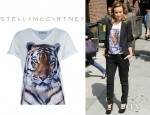 Olivia Wilde's Stella McCartney Tiger Tee