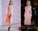 Poppy Delevingne In Louis Vuitton - Louis Vuitton Shanghai Flagship Store Opening