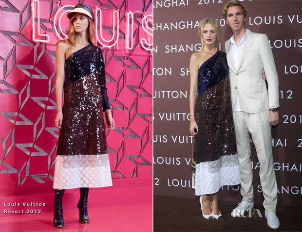 Poppy Delevigne In Louis Vuitton - Louis Vuitton Fashion Night In Shanghai