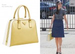 Celebrities Love...Prada 'Pyramide' Bag