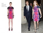 Princess Beatrice In McQ Alexander McQueen - Crosby Hall