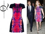 Princess Beatrice's McQ by Alexander McQueen Moulded Torso Dress