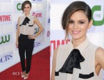 Rachel Bilson In Malene Birger &  Alexander McQueen - CW, CBS And Showtime 2012 Summer TCA Party