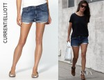 Rachel Bilson's Current/Elliott The Girlfriend Shorts