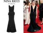 Rooney Mara's Nina Ricci Taffeta Full Length Dress