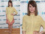 Rose Byrne In Boy. By Band of Outsiders  - SiriusXM Studios