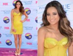 Shay Mitchell In Donna Karan Atelier - 2012 Teen Choice Awards
