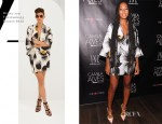 Solange Knowles In Diane von Furstenberg - INC International Concepts Brand Ambassador Unveiling