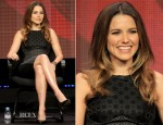 Sophia Bush In Stella McCartney - 2012 TCA Summer Press Tour: 'Partners' Panel