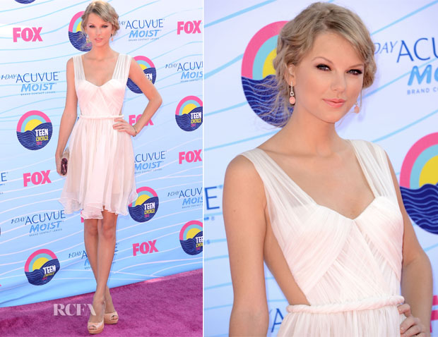 Taylor Swift In Maria Lucia Hohan - 2012 Teen Choice Awards