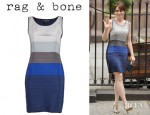 Tina Fey's Rag & Bone Ombre Layered Dress