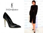 Victoria Beckham's YSL Carla Patent Pointy Pumps
