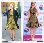 Who Wore Alice + Olivia Better? Dianna Agron or Holland Roden