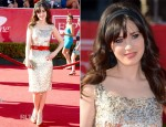 Zooey Deschanel In Oscar de la Renta - 2012 ESPY Awards