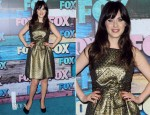 Zooey Deschanel In Paule Ka - FOX All-Star Party