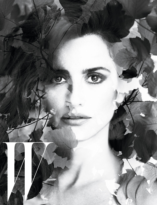 Penelope Cruz for W Magazine September 2012