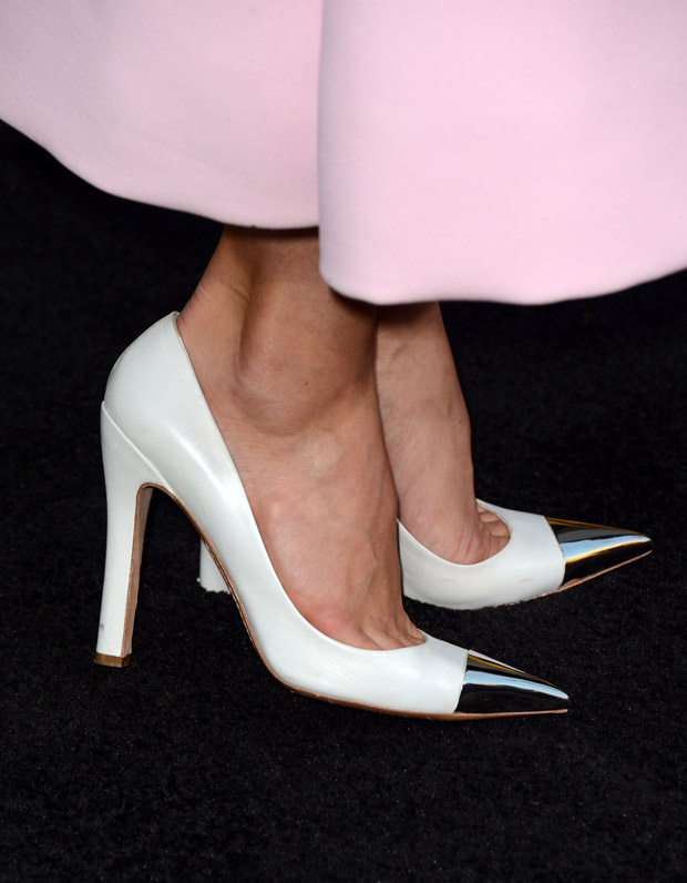 Jessica Biel's Louis Vuitton pumps