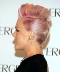Pink in Norma Kamali