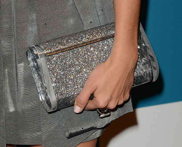 Ashley Tisdale's Edie Parker clutch