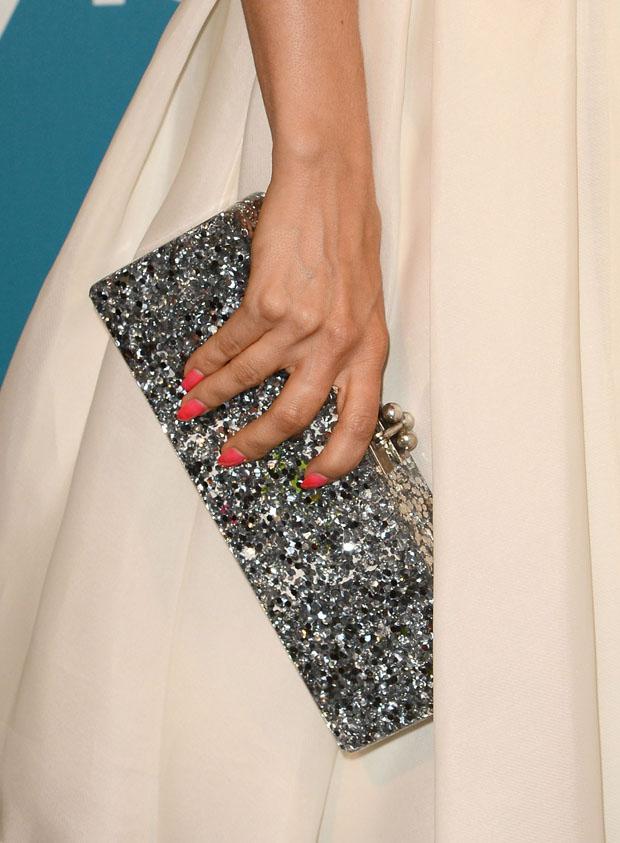 Mena Suvari's Edie Parker clutch