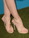 Jaime King's Jimmy Choo heels