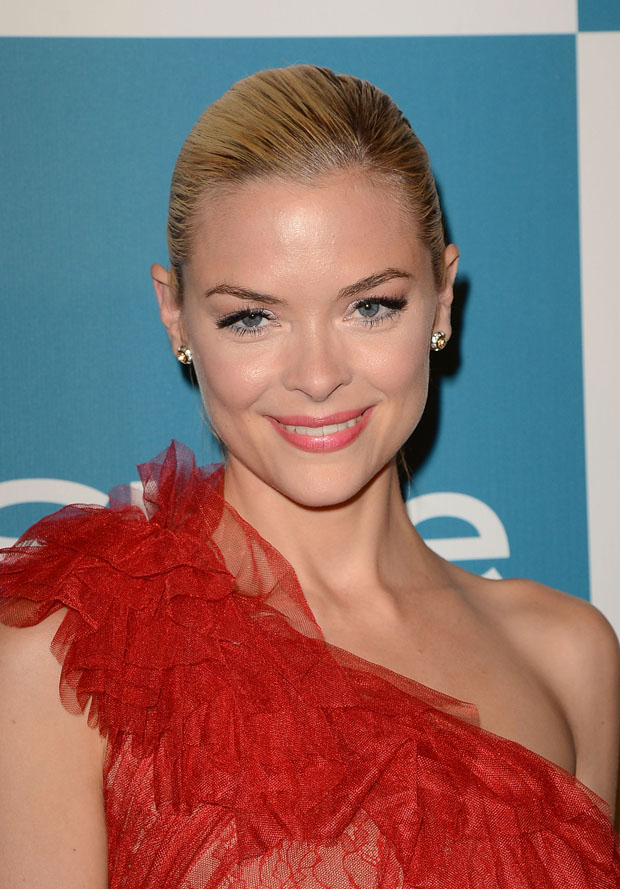 Jaime King in Marchesa