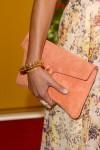 Jordana Brewster's ela M.I.L.C.K. clutch