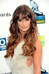 Lea Michele in Giorgio Armani