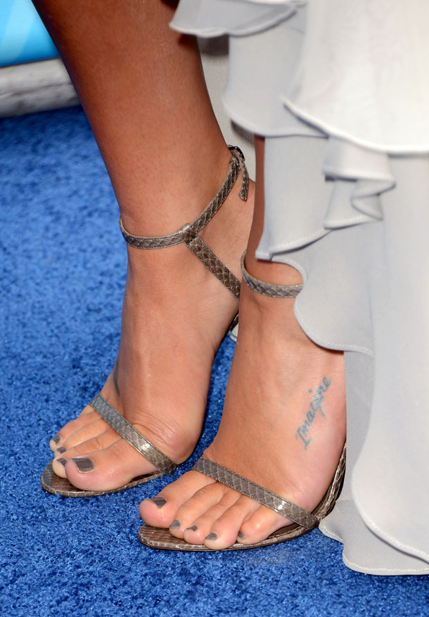 Lea Michele's Jenni Kayne sandals