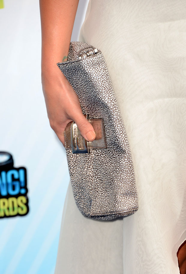 Lea Michele's Fendi clutch