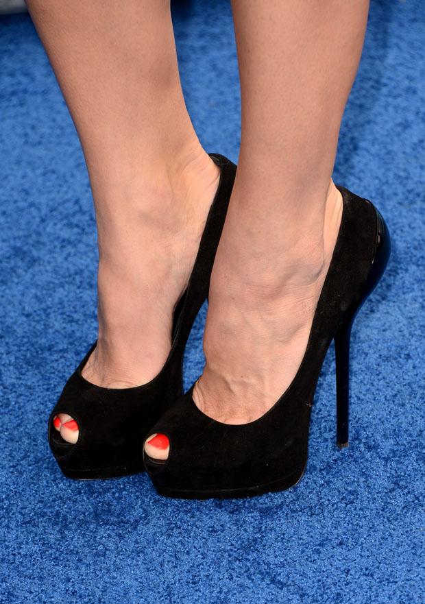 Ashley Greene's Giuseppe Zanotti shoes