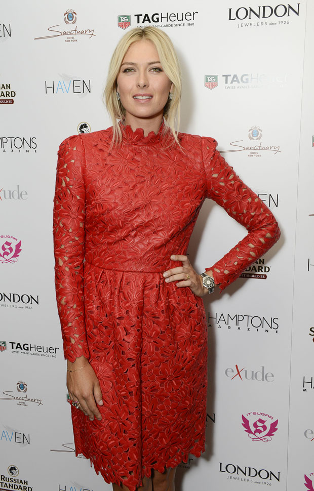 Maria Sharapova in Valentino