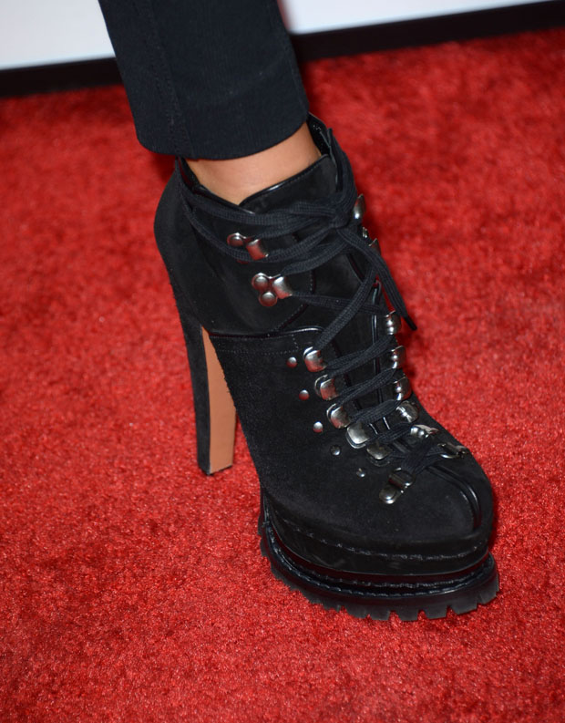 Liberty Ross' Alaia ankle boots