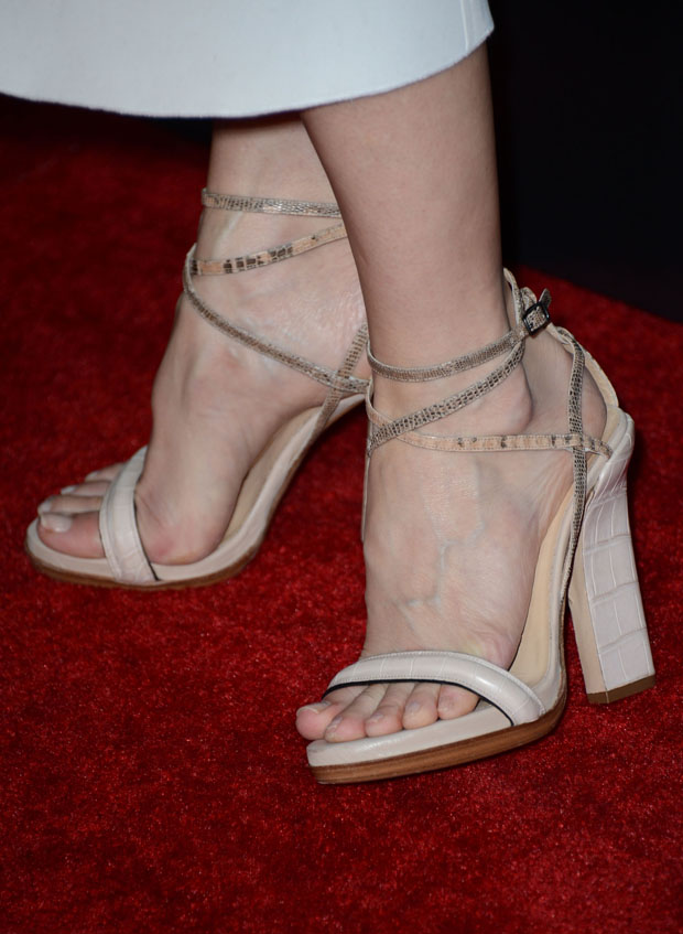 Kyra Sedgwick's Reed Krakoff shoes