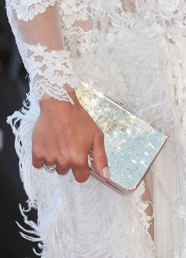 Fiammetta Cicogna's clutch