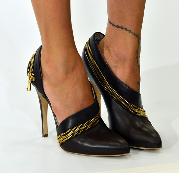 Nicole Richie's Brian Atwood shoes