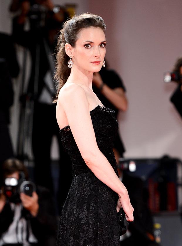 Winona Ryder in Dolce & Gabbana
