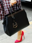 Sarah Jessica Parker - Fendi '2Jours Elite' Leather Shopper