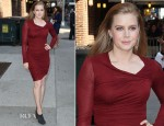 Amy Adams In Helmut Lang – 'Late Show With David Letterman'