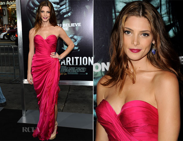 Ashley Greene In Donna Karan Atelier - 'The Apparition' LA Premiere