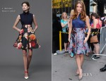 Ashley Greene In J.Mendel - Good Afternoon America
